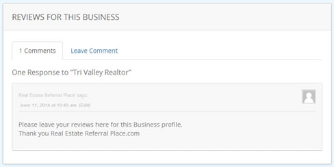 Reviews on all Business Profiles
